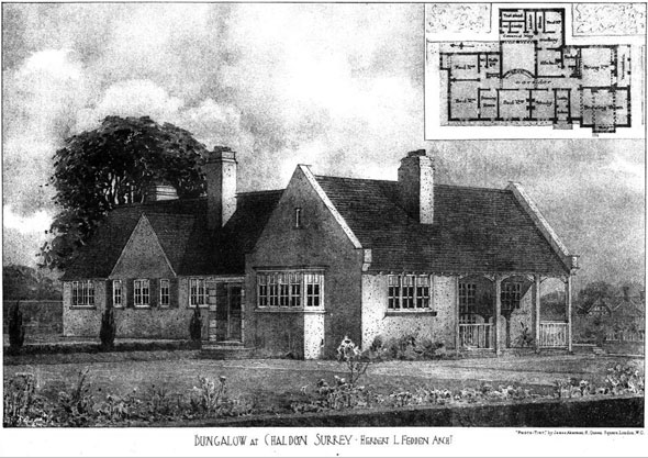 1906 &#8211; Bungalow, Chaldon, Surrey
