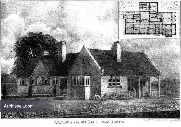1906 – Bungalow, Chaldon, Surrey