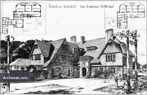 1906 – House, Reigate, Surrey