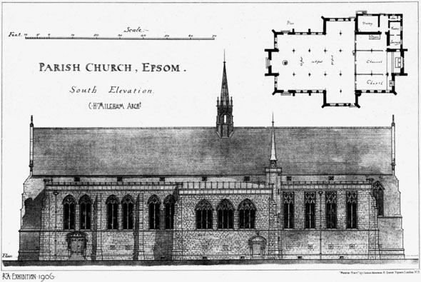 1906 &#8211; Parish Church, Epsom, Surrey