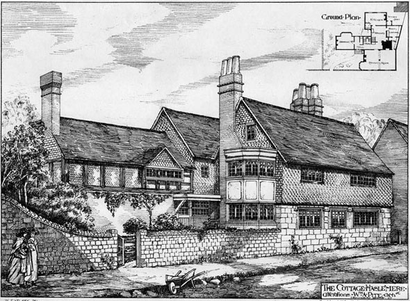 1885 – Cottage, Haslemere, Surrey
