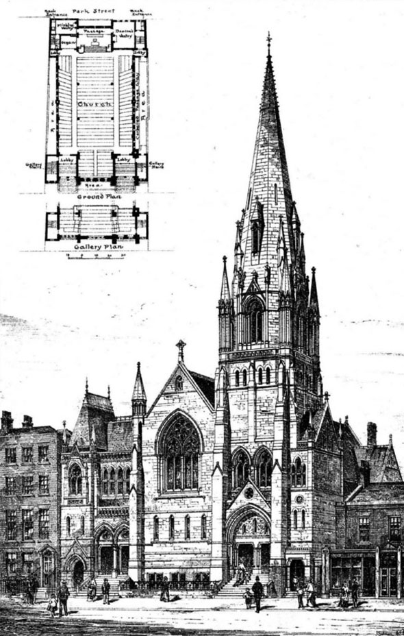 1876 – Congregational Church, George Street, Croydon, Surrey
