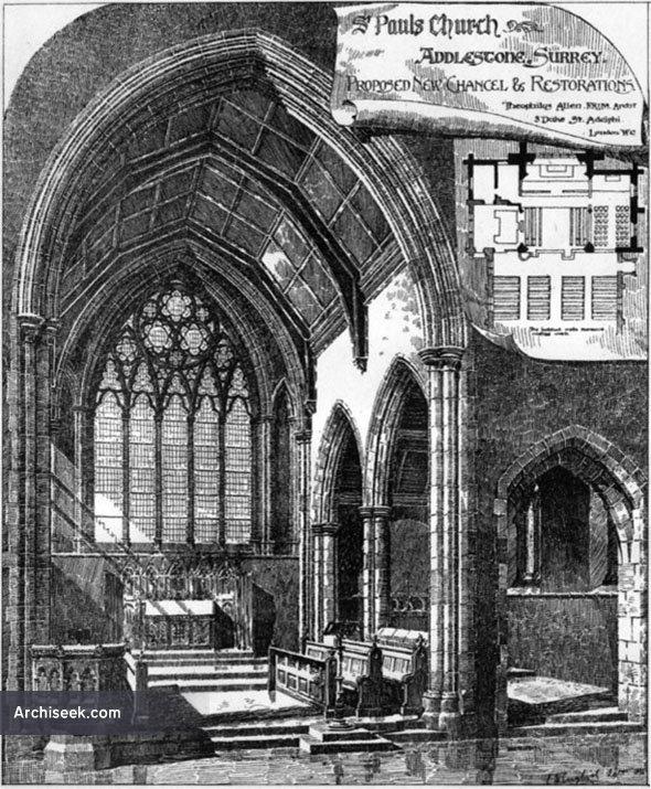 1892 – St. Pauls Church, Addlestone, Surrey