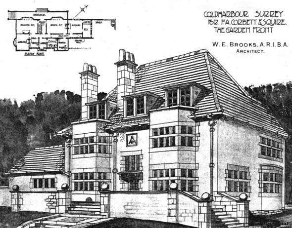1903 – House at Coldharbour, Surrey