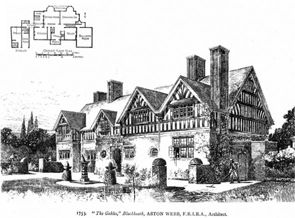 1896 &#8211; &#8220;The Gables&#8221;, Blackheath, Surrey
