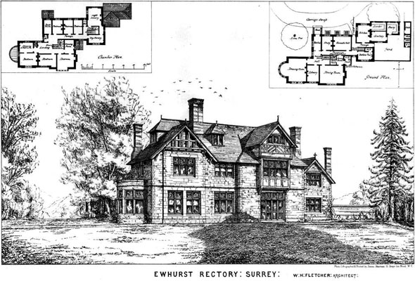 1874 &#8211; Ewhurst Rectory, Surrey