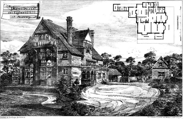 "1885 – ""Queenscroft"", Egham Hill, Surrey"