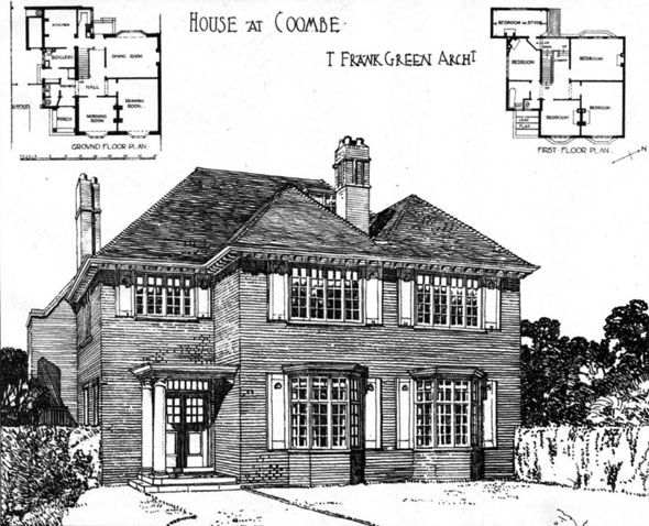 1906 &#8211; House at Coombe, Surrey