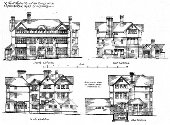 1891 – New House, Edgeborough Rd., Guilford, Surrey