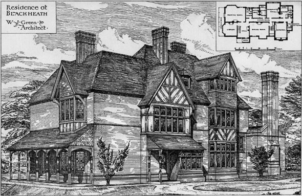 1881 &#8211; Residence at Blackheath, Surrey
