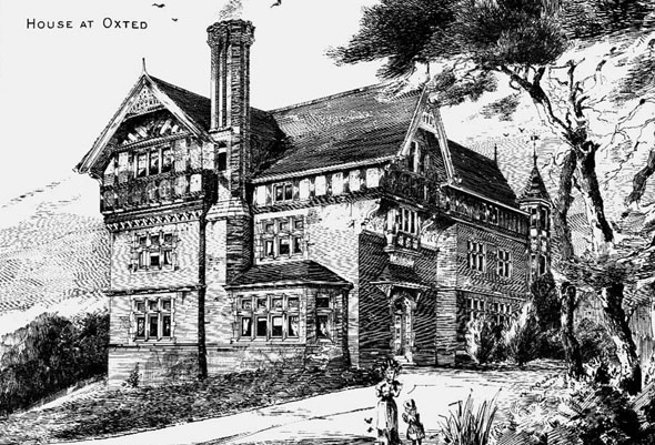 1884 – House at Oxted, Surrey