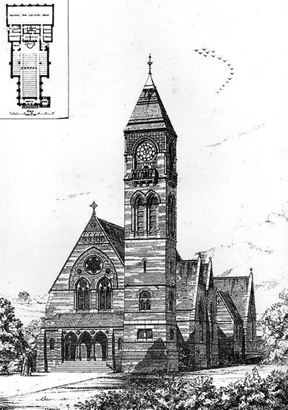 1874 &#8211; Congregational Church, Caterham, Surrey