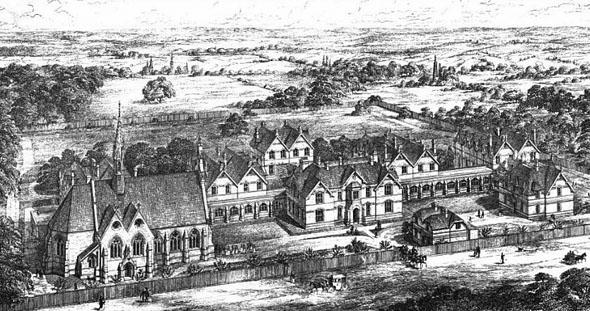 1869 &#8211; Magdalen Hospital, Streatham, London