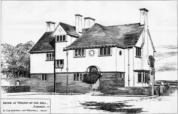 1902 &#8211; House, Walton on the Hill, Surrey