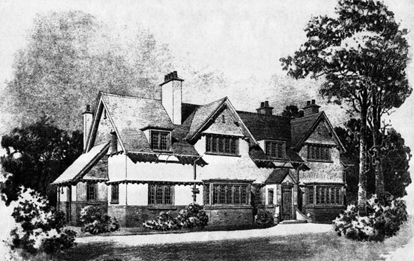 1902 &#8211; House at Caterham, Surrey