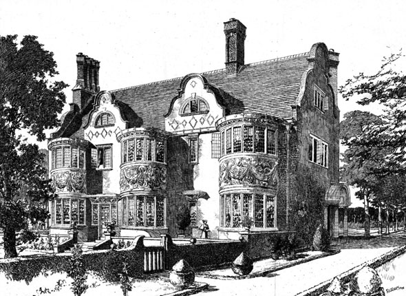 1899 – 'Hillington', Walton on Thames, Surrey