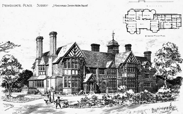 1898 &#8211; Newdigate Place, Surrey