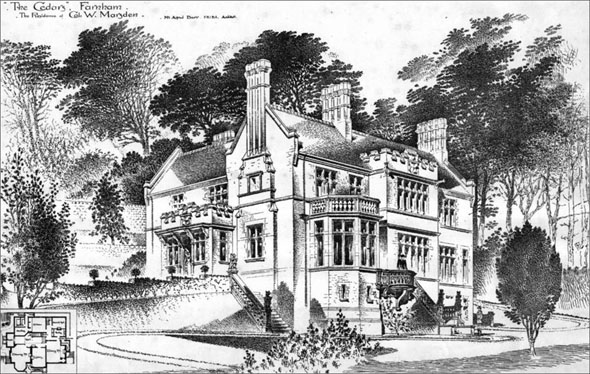 "1897 – ""The Cedars"", Farnham, Surrey"