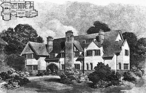 1901 – House at Limpsfield, Surrey