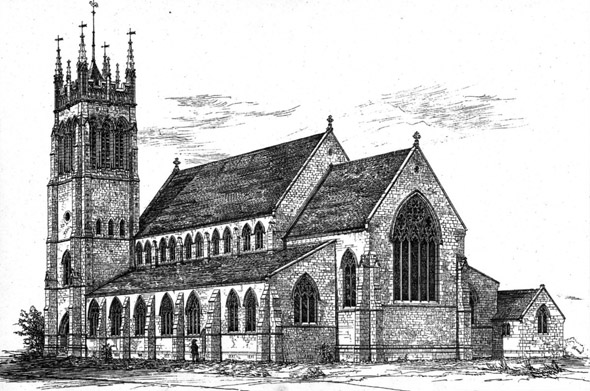 1885 &#8211; Christ Church, Penge, Surrey