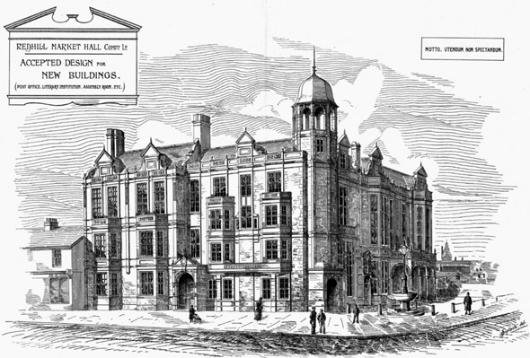 1888 – Redhill Market Hall, Surrey
