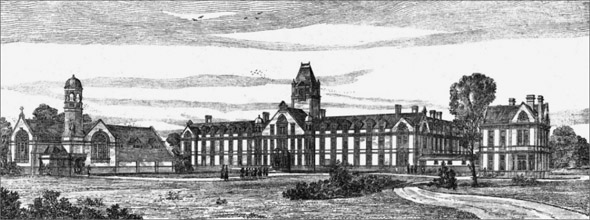1882 &#8211; Royal St. Anne&#8217;s Asylum, Redhill, Surrey