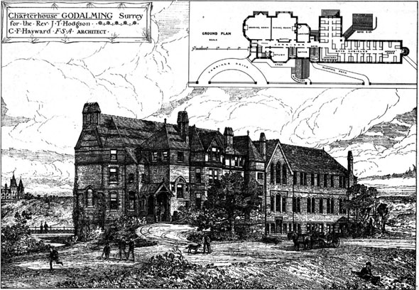 1876 &#8211; Charterhouse, Godalming, Surrey