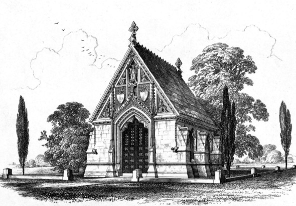 1862 &#8211; The Colquhoun Mortuary Chapel, Woking, Surrey
