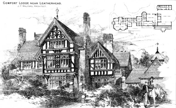 1886 &#8211; Comfort Lodge, Leatherhead, Surrey