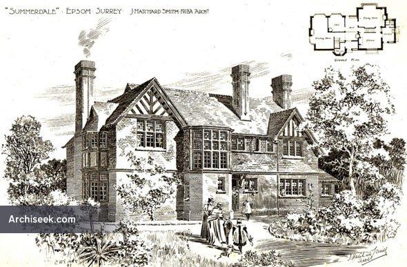"1898 – ""Summerdale"", Epsom, Surrey"