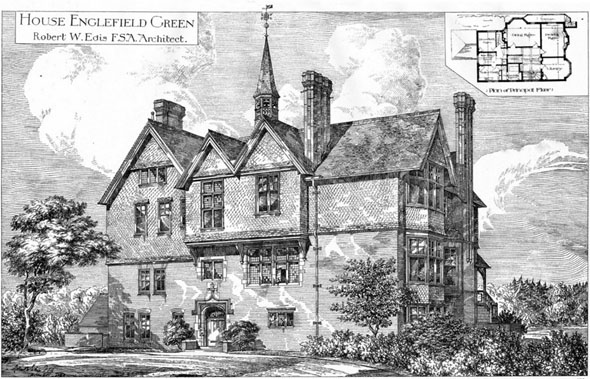 1883 &#8211; House at Englefield Green, Surrey