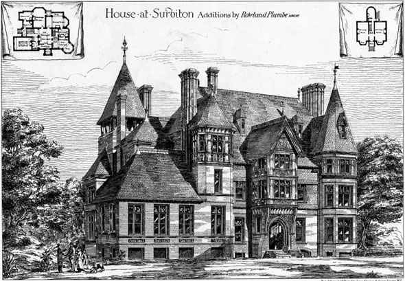 1879 &#8211;  House at Surbiton, Surrey