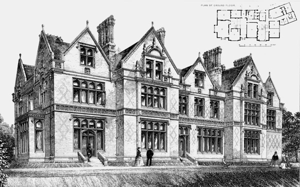 1868 &#8211; Lythe Hill, Haslemere, Surrey
