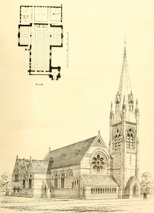 1868 &#8211; St. George&#8217;s Church, Croydon, Surrey