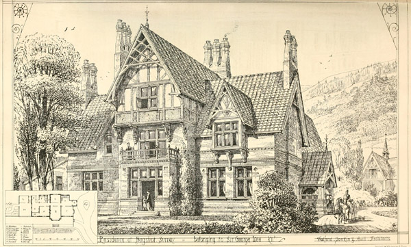 1868 – Residence at Bagshot, Surrey