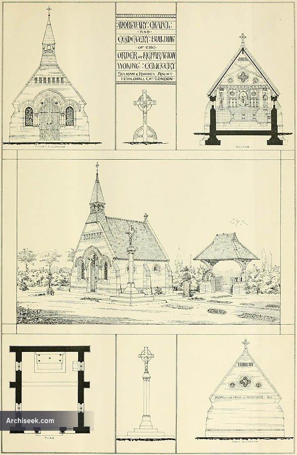 1873 – Cemetary Chapel, Woking