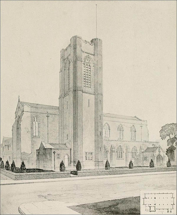 1920 – Church of St. John the Divine, Earlsfield, Surrey