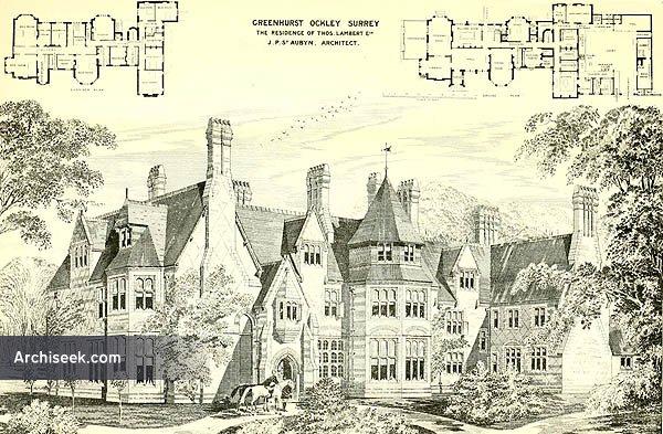 1874 – Greenhurst Park, Ockley, Surrey