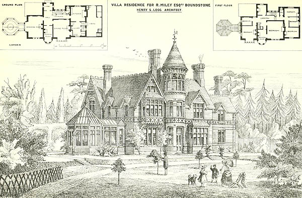1874 – Villa Residence, Boundstone, Surrey