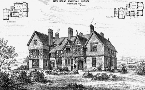 1875 &#8211; New House, Twineham, Sussex