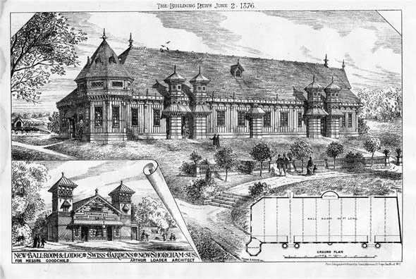 1897 – New Ballroom & Lodge, New Shoreham, Sussex