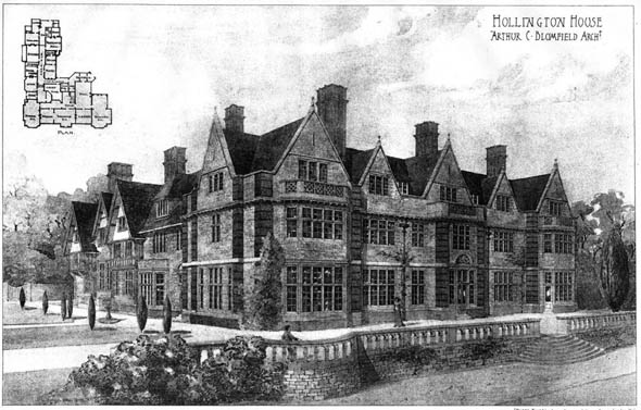1903 &#8211; Hollington House, Sussex