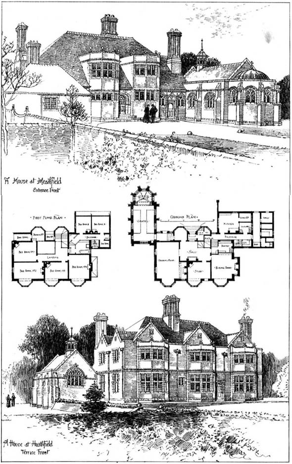 1901 &#8211; A House at Heathfield, Sussex
