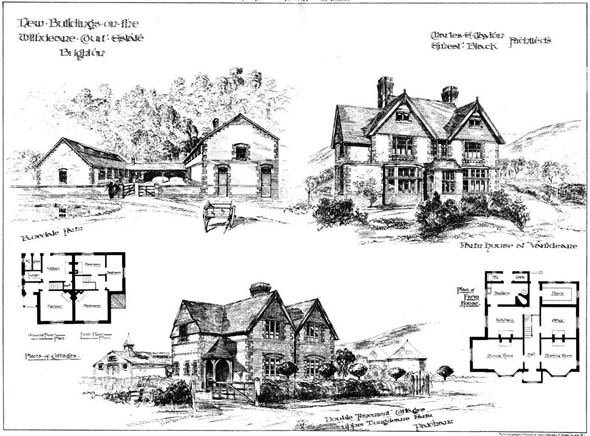 1885 &#8211; New Buildings, Withdeane Court Estate, Sussex
