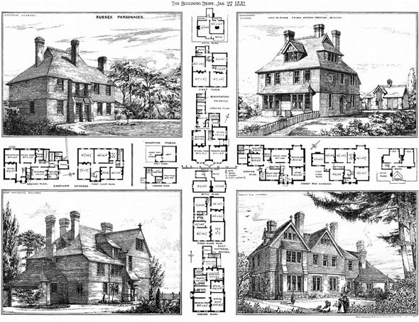 1881 &#8211; Sussex Parsonages