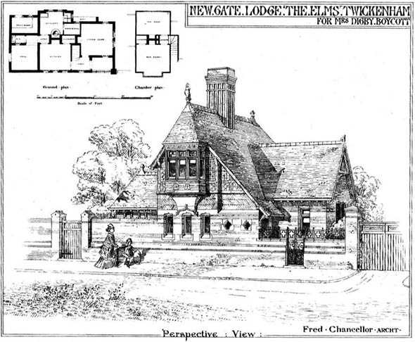 1873 – New Gate Lodge, Twickenham, Sussex