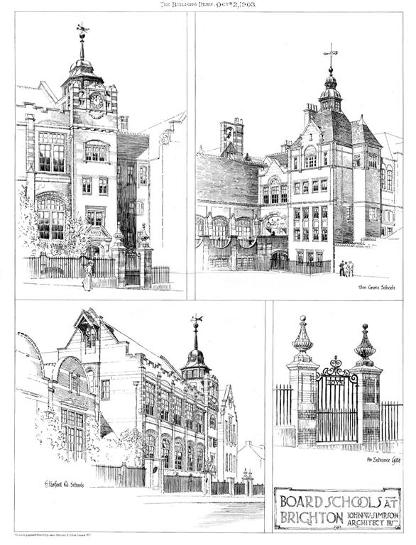 1903 – Schools, Brighton, Sussex