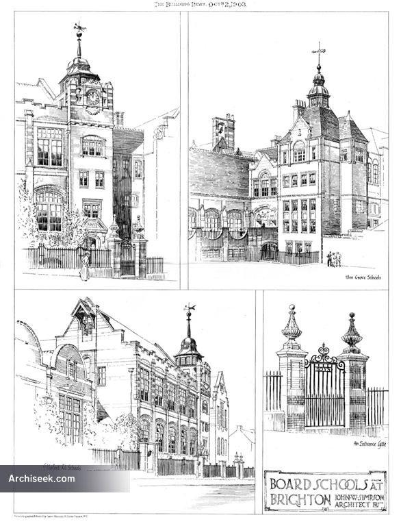 1903 – Schools, Brighton, Sussex