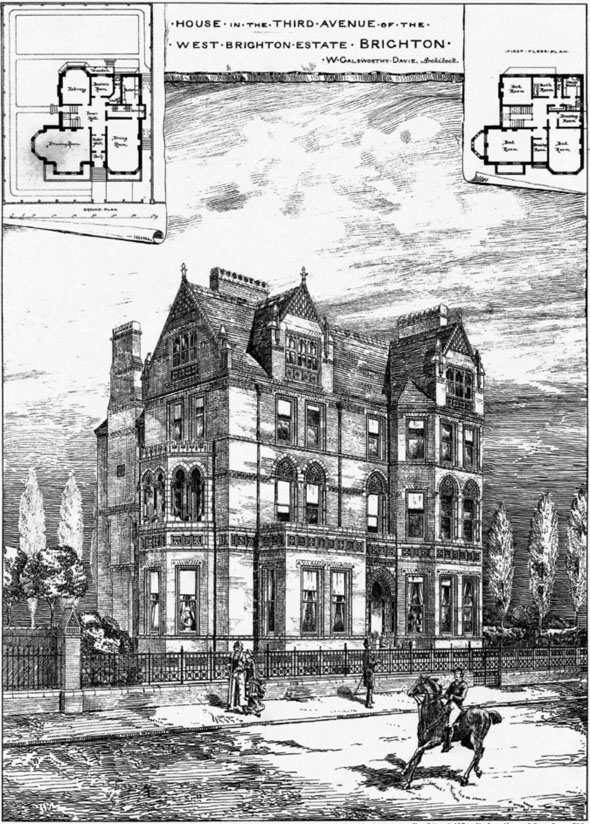 1878 &#8211; House, West Brighton Estate, Brighton, Sussex