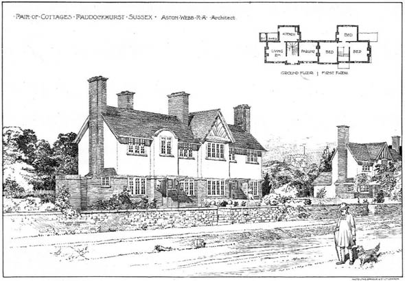 1904 – Cottages, Paddockhurst, Sussex